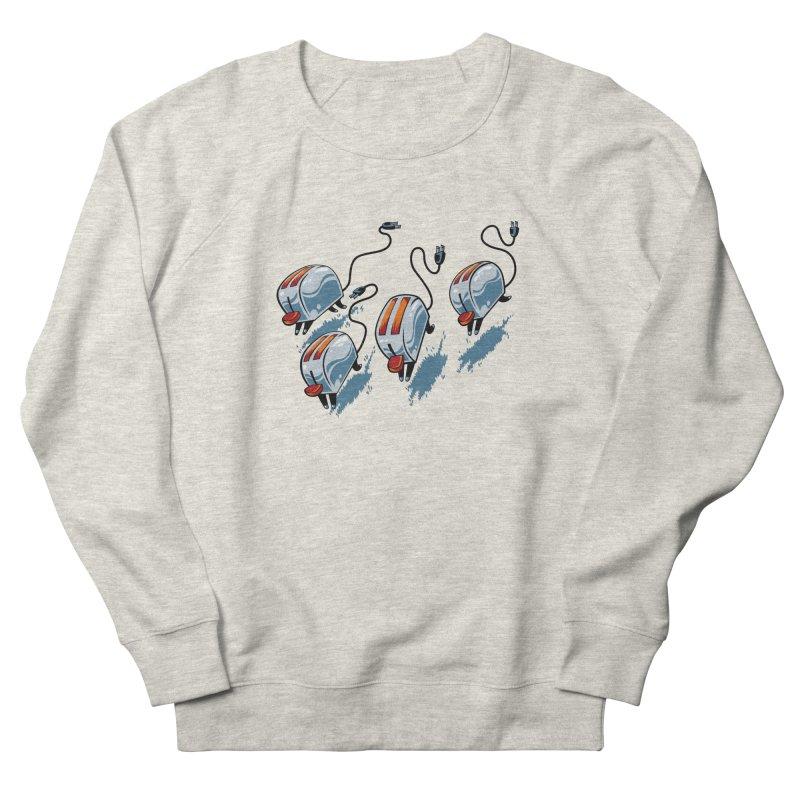 Wild Toasters Men's French Terry Sweatshirt by bennygraphix's Artist Shop