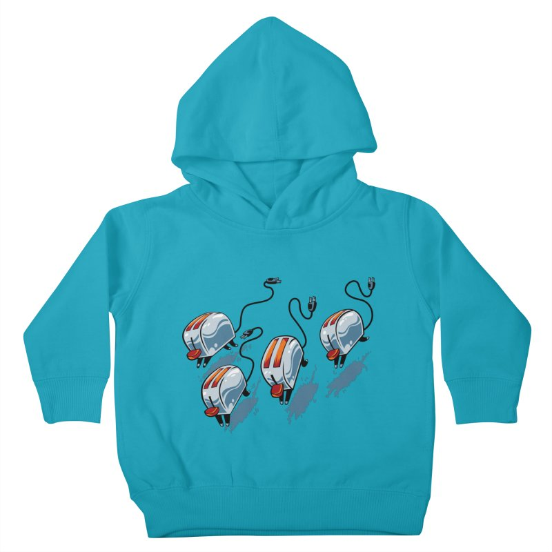 Wild Toasters Kids Toddler Pullover Hoody by bennygraphix's Artist Shop