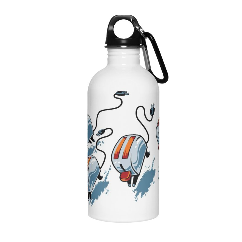 Wild Toasters Accessories Water Bottle by bennygraphix's Artist Shop