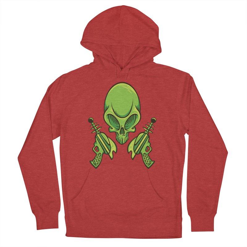 Alien Skull Men's Pullover Hoody by bennygraphix's Artist Shop