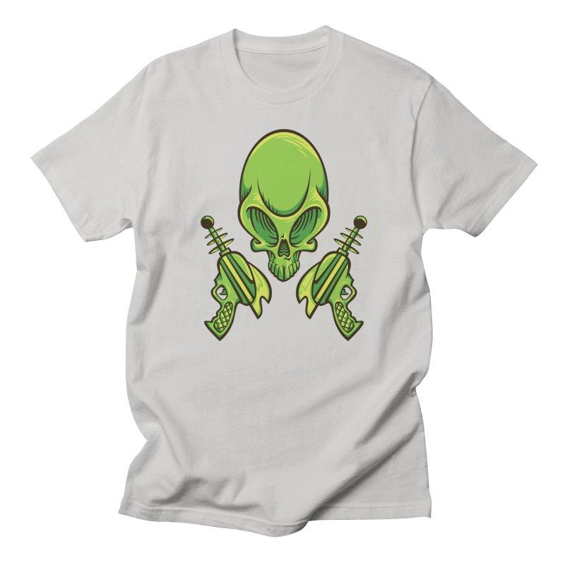 Alien Skull Women's Unisex T-Shirt by bennygraphix's Artist Shop