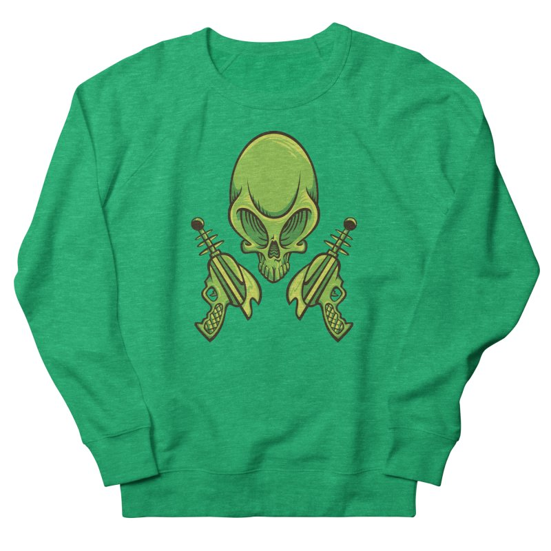 Alien Skull Women's Sweatshirt by bennygraphix's Artist Shop