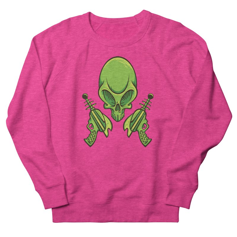Alien Skull Women's Sweatshirt by bennygraphix's Artist Shop