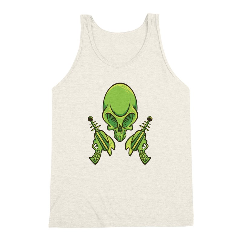 Alien Skull Men's  by bennygraphix's Artist Shop