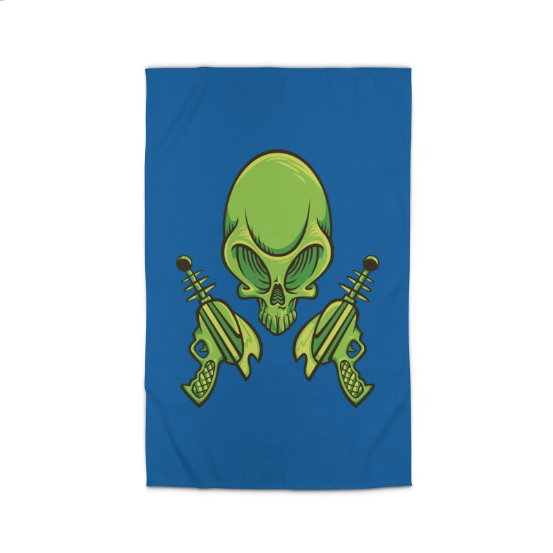 Alien Skull Home Rug by bennygraphix's Artist Shop