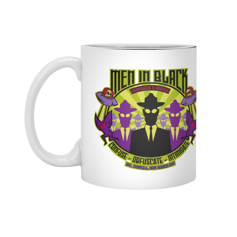 Men In Black Logo Accessories Mug by bennygraphix's Artist Shop