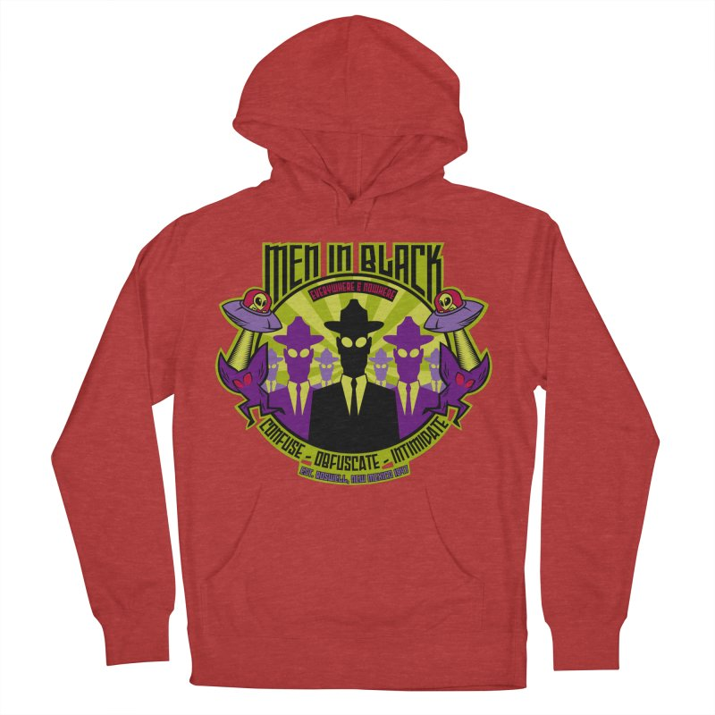 Men In Black Logo Women's Pullover Hoody by bennygraphix's Artist Shop