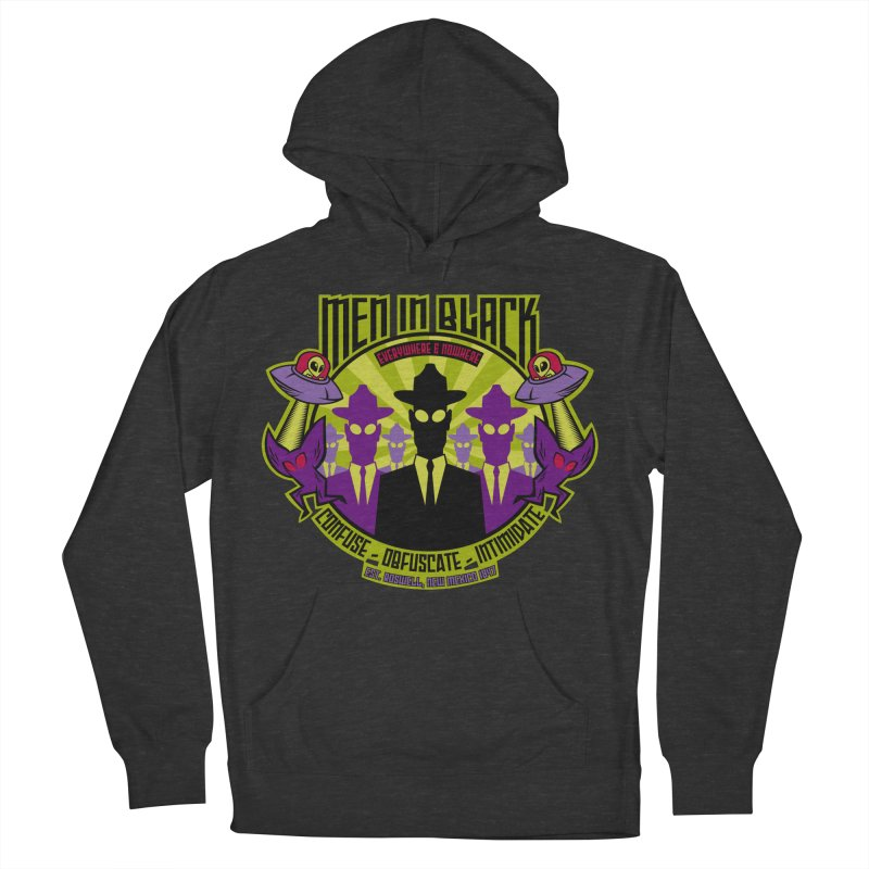 Men In Black Logo Men's Pullover Hoody by bennygraphix's Artist Shop