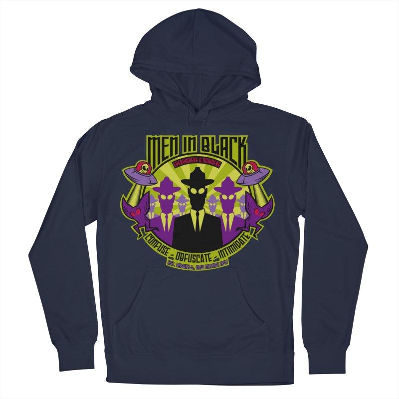 Men In Black Logo Men's Pullover Hoody by bennygraphix's Artist Shop