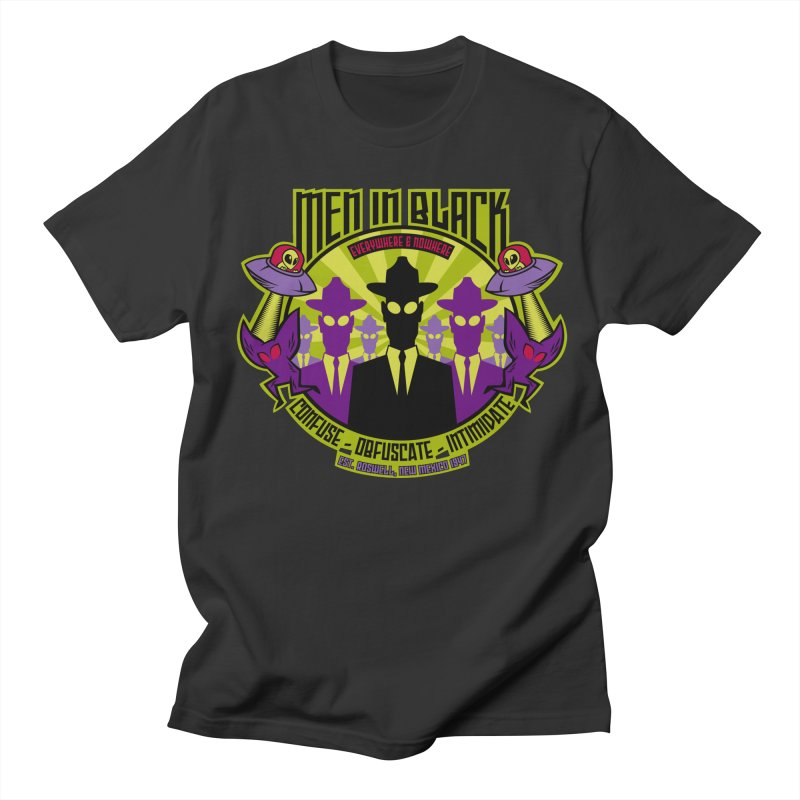 Men In Black Logo Men's Regular T-Shirt by bennygraphix's Artist Shop