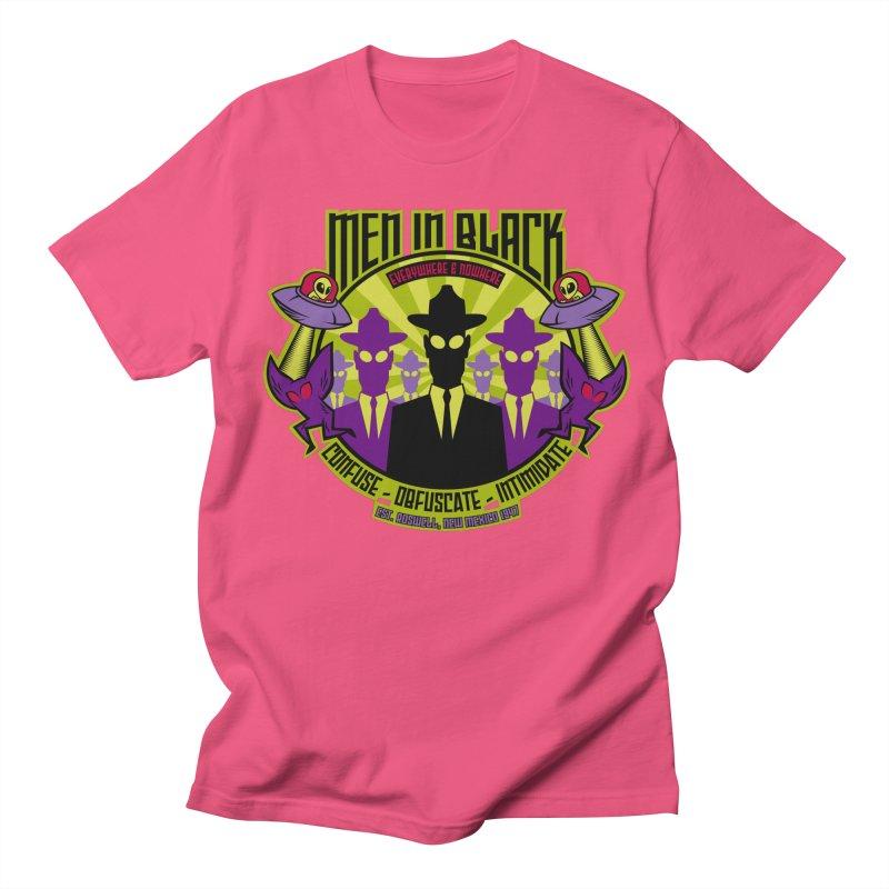 Men In Black Logo Men's T-Shirt by bennygraphix's Artist Shop