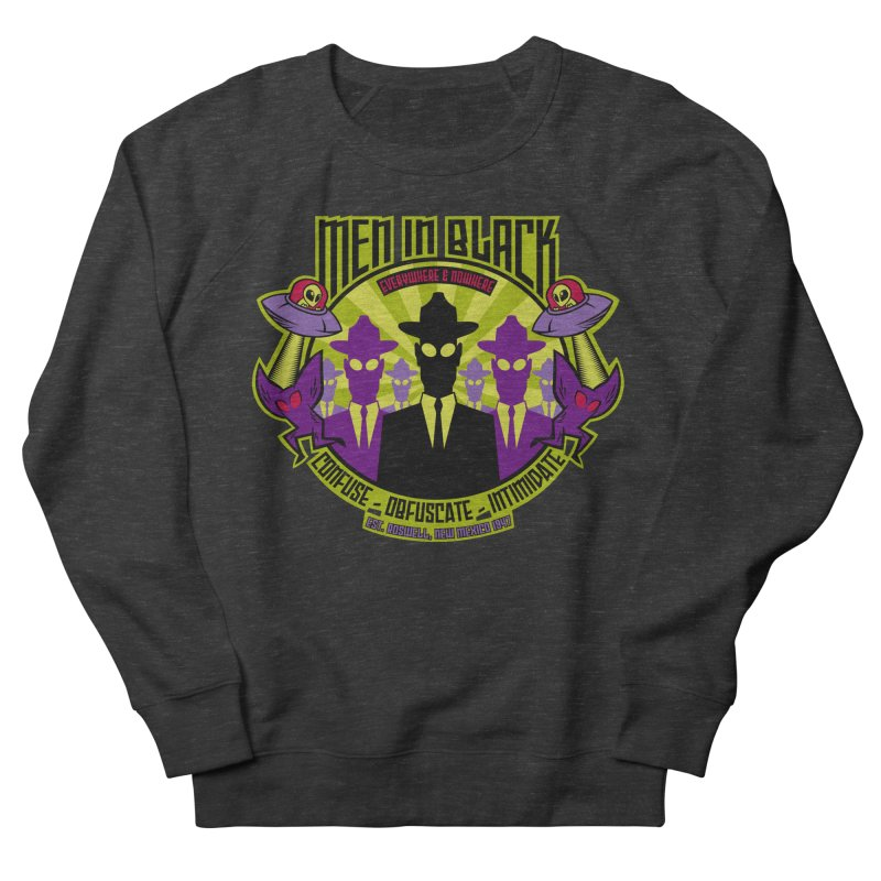 Men In Black Logo Women's Sweatshirt by bennygraphix's Artist Shop