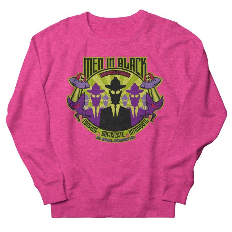 Men In Black Logo Women's Sweatshirt by bennygraphix's Artist Shop