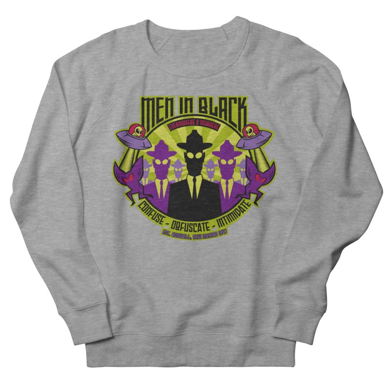 Men In Black Logo Men's Sweatshirt by bennygraphix's Artist Shop