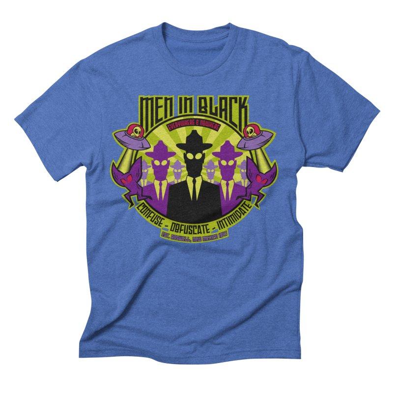 Men In Black Logo Men's Triblend T-Shirt by bennygraphix's Artist Shop