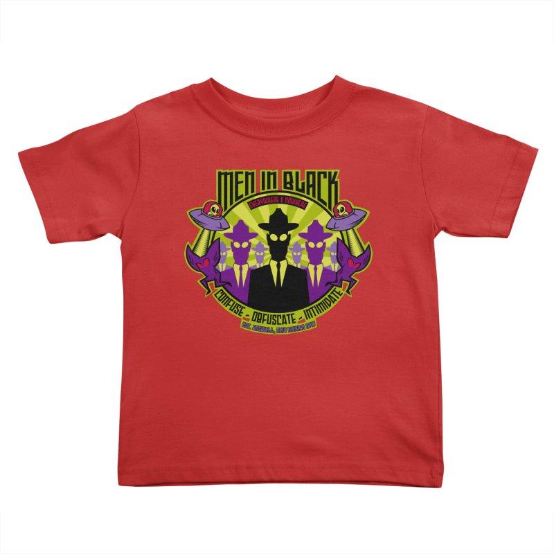 Men In Black Logo Kids Toddler T-Shirt by bennygraphix's Artist Shop