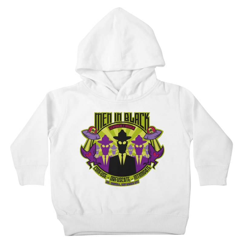 Men In Black Logo Kids Toddler Pullover Hoody by bennygraphix's Artist Shop