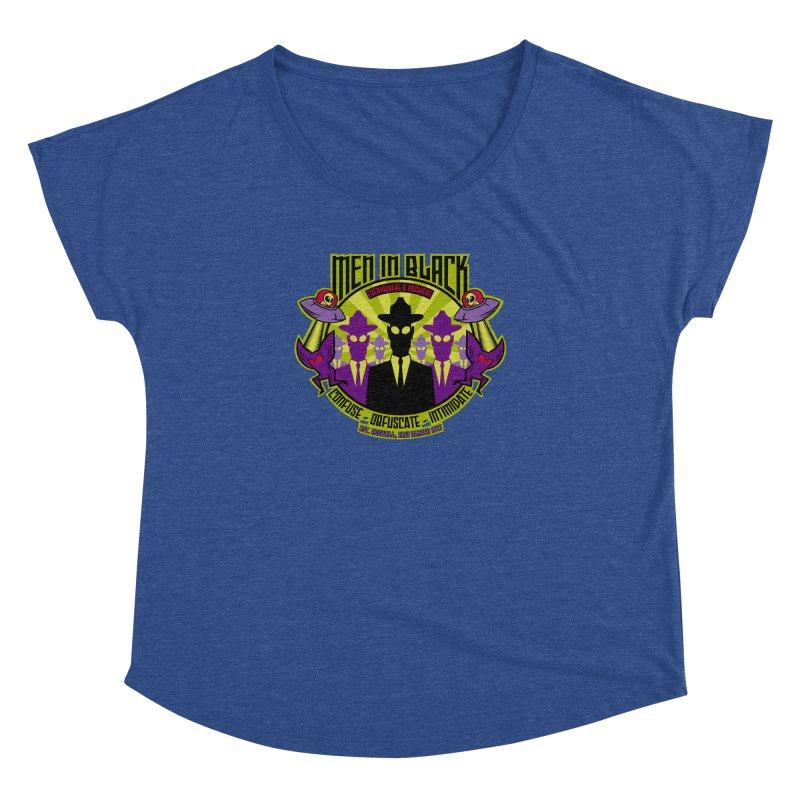 Men In Black Logo Women's Dolman by bennygraphix's Artist Shop