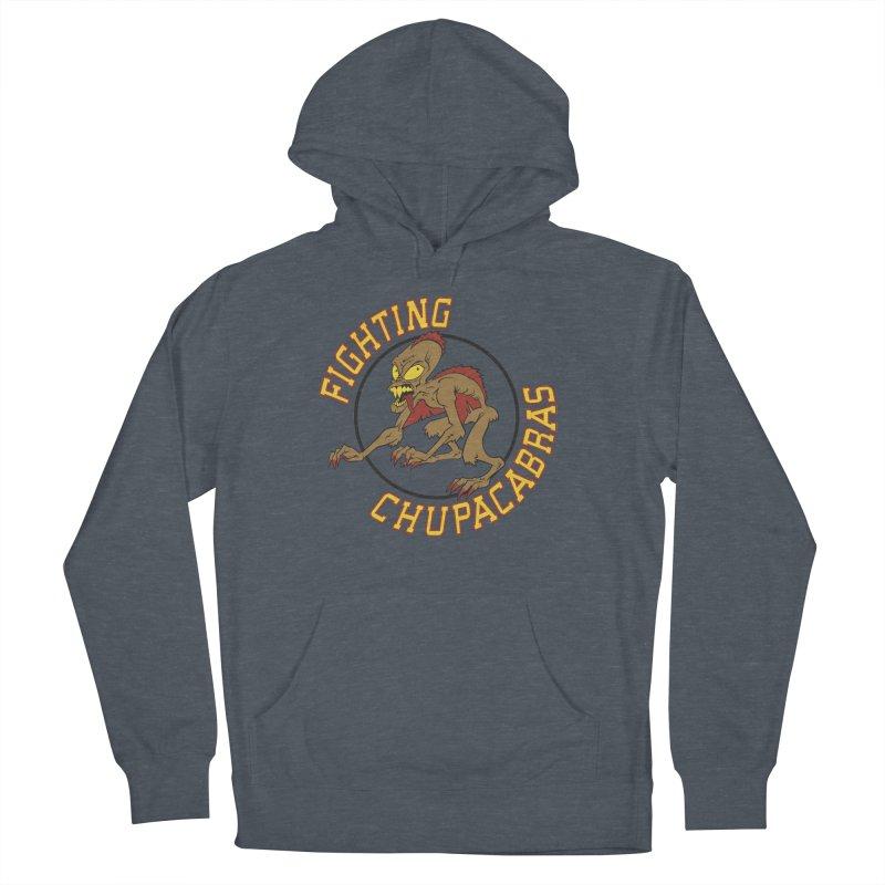 Fighting Chupacabras Men's Pullover Hoody by bennygraphix's Artist Shop