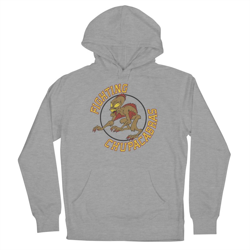Fighting Chupacabras Men's Pullover Hoody by bennygraphix's Artist Shop