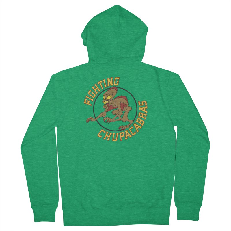 Fighting Chupacabras Women's Zip-Up Hoody by bennygraphix's Artist Shop