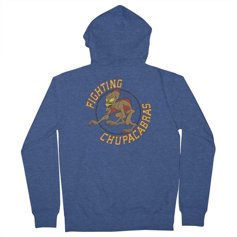 Fighting Chupacabras Women's Zip-Up Hoody by bennygraphix's Artist Shop