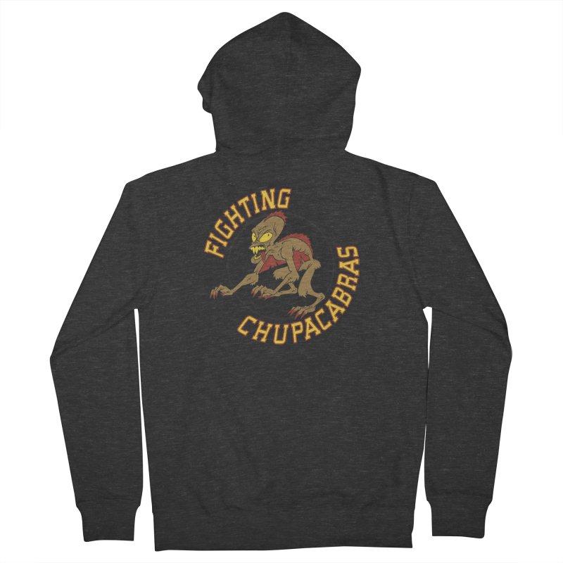 Fighting Chupacabras Men's Zip-Up Hoody by bennygraphix's Artist Shop