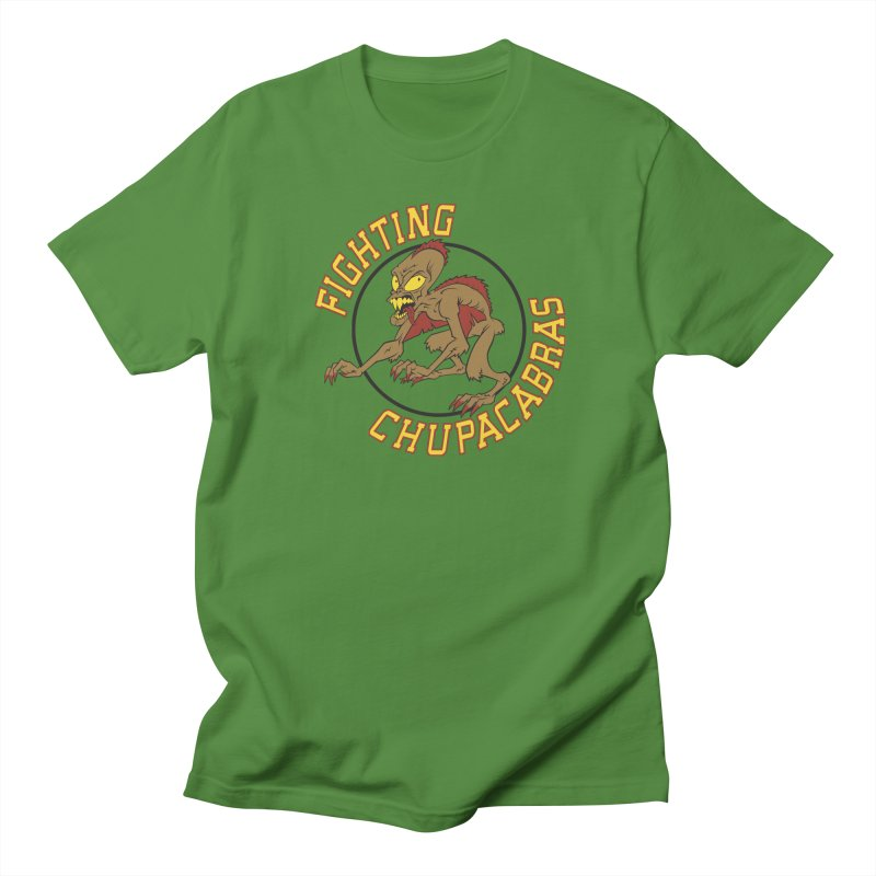 Fighting Chupacabras Women's Unisex T-Shirt by bennygraphix's Artist Shop
