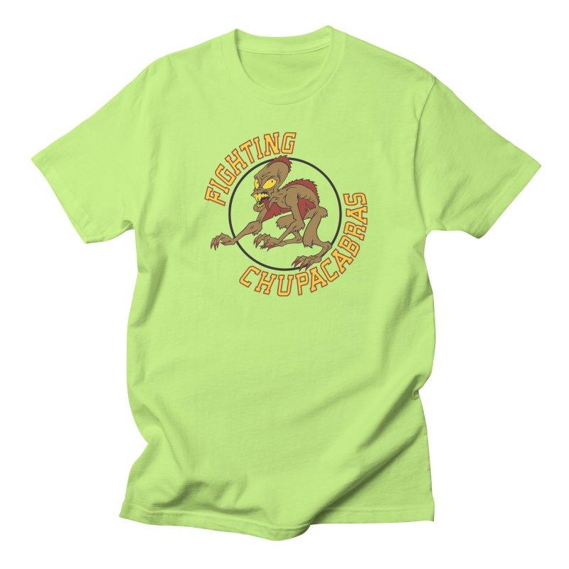 Fighting Chupacabras Men's Regular T-Shirt by bennygraphix's Artist Shop