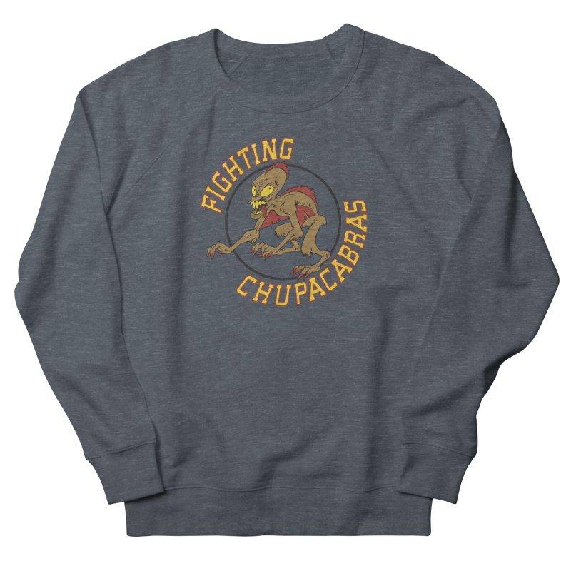 Fighting Chupacabras Women's French Terry Sweatshirt by bennygraphix's Artist Shop