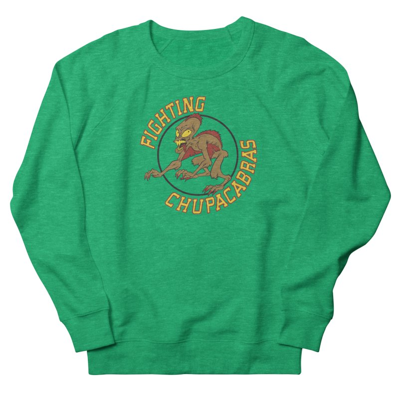 Fighting Chupacabras Men's Sweatshirt by bennygraphix's Artist Shop