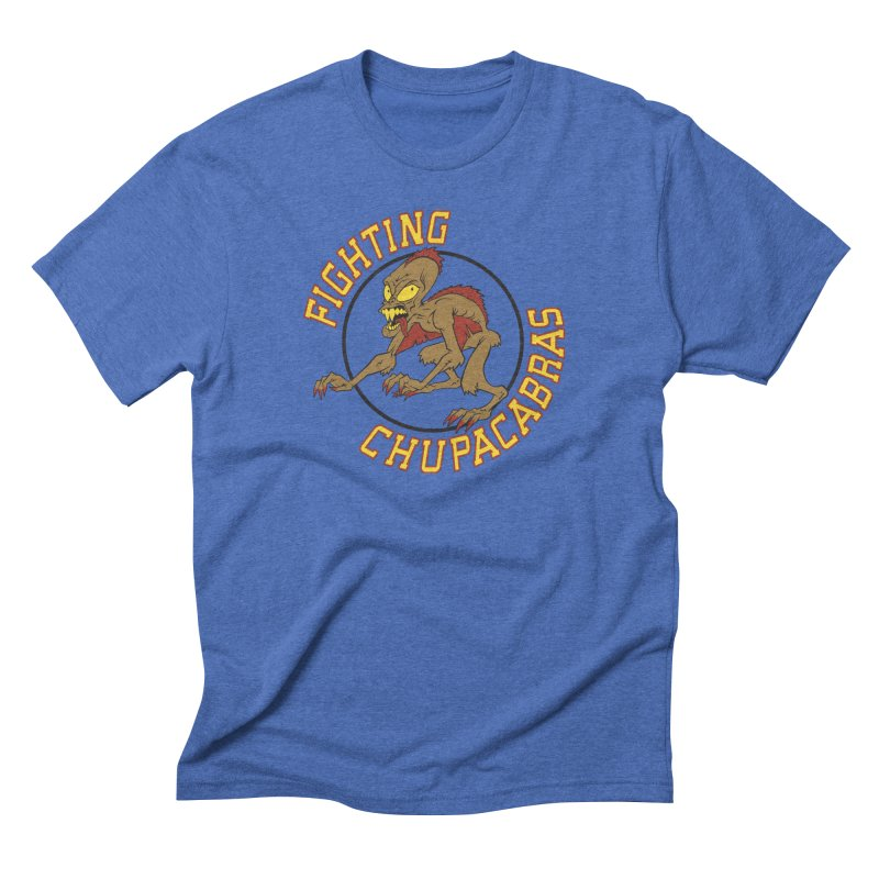 Fighting Chupacabras Men's Triblend T-Shirt by bennygraphix's Artist Shop