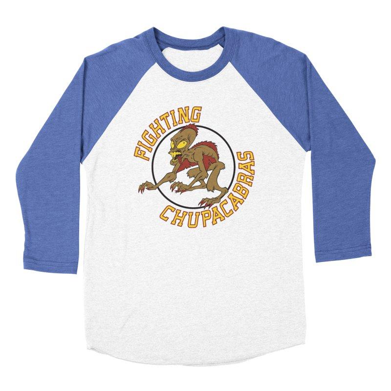 Fighting Chupacabras Men's Baseball Triblend Longsleeve T-Shirt by bennygraphix's Artist Shop