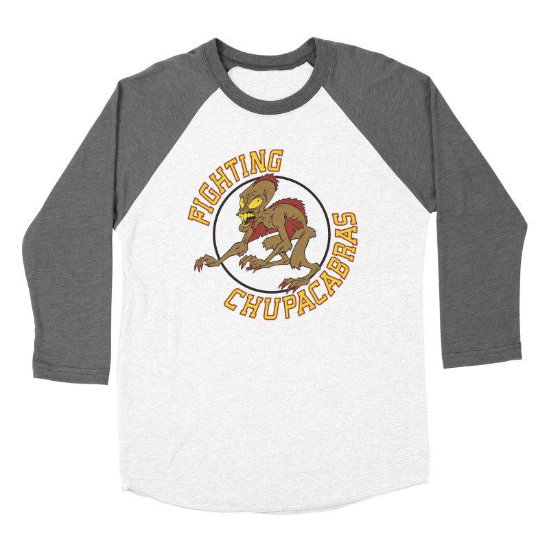 Fighting Chupacabras Men's Baseball Triblend T-Shirt by bennygraphix's Artist Shop