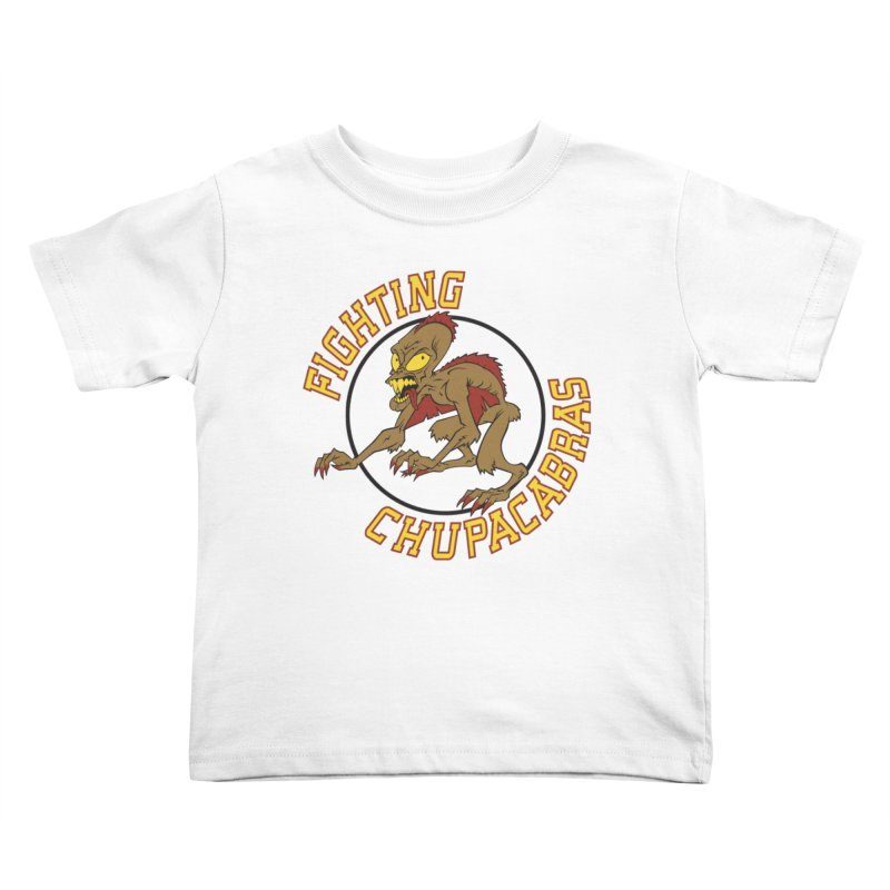 Fighting Chupacabras Kids Toddler T-Shirt by bennygraphix's Artist Shop