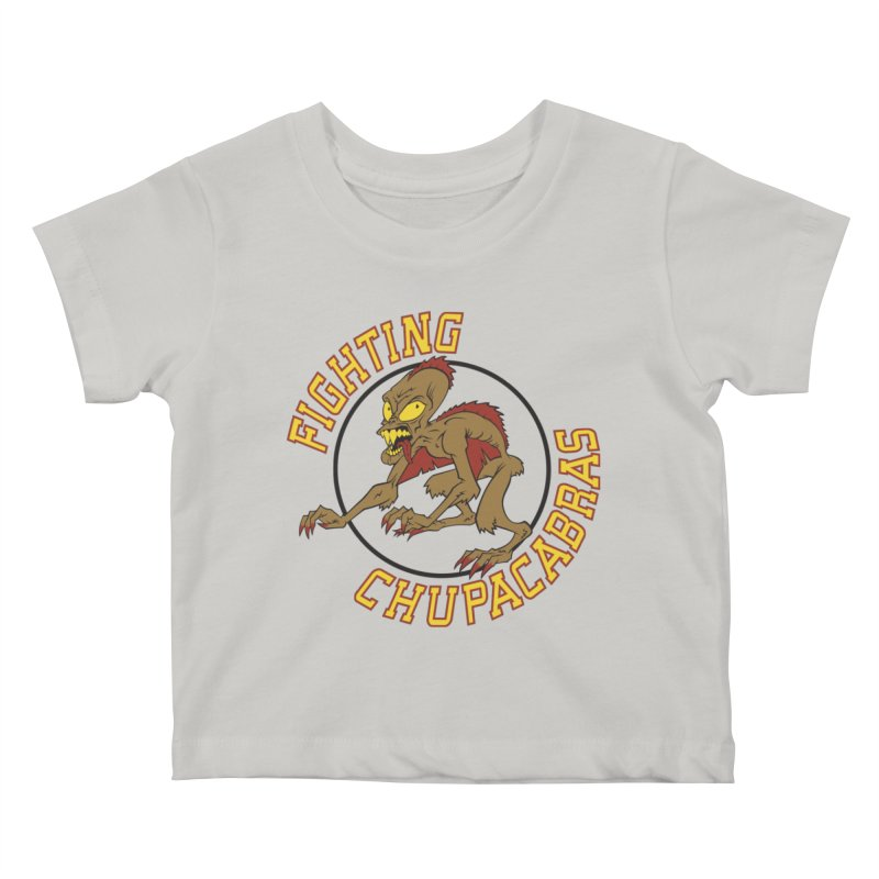 Fighting Chupacabras Kids Baby T-Shirt by bennygraphix's Artist Shop