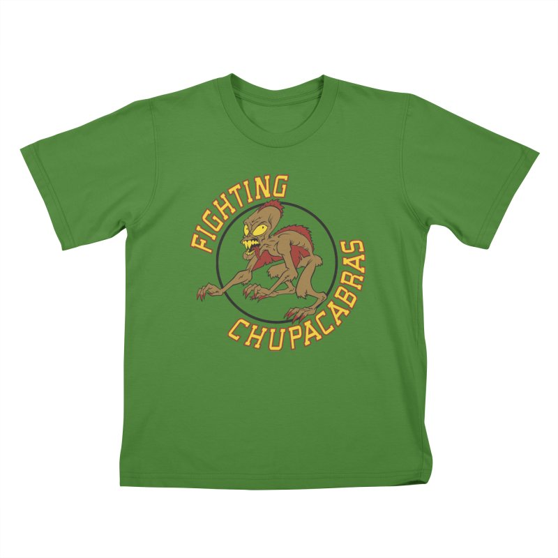Fighting Chupacabras Kids T-shirt by bennygraphix's Artist Shop