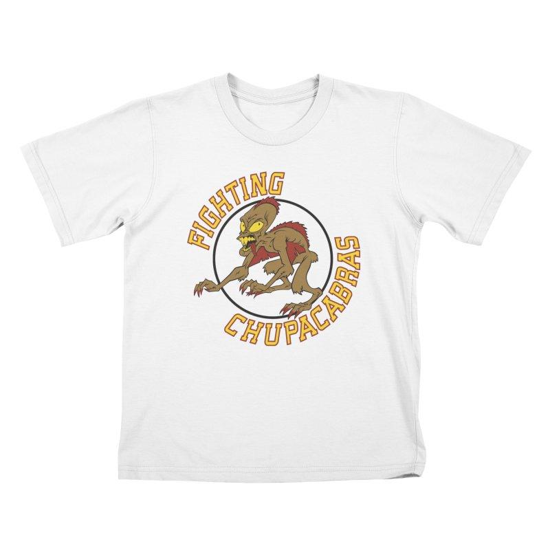 Fighting Chupacabras Kids T-shirt by bennygraphix's Artist Shop