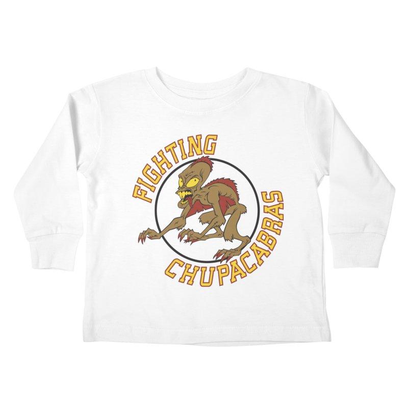 Fighting Chupacabras Kids Toddler Longsleeve T-Shirt by bennygraphix's Artist Shop