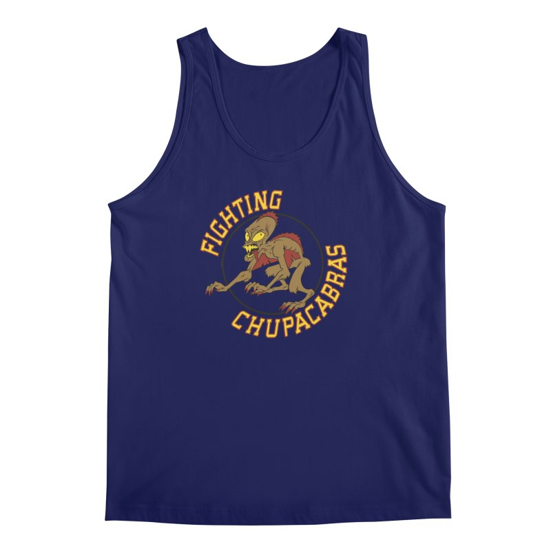 Fighting Chupacabras Men's Tank by bennygraphix's Artist Shop