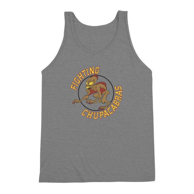 Fighting Chupacabras Men's Triblend Tank by bennygraphix's Artist Shop