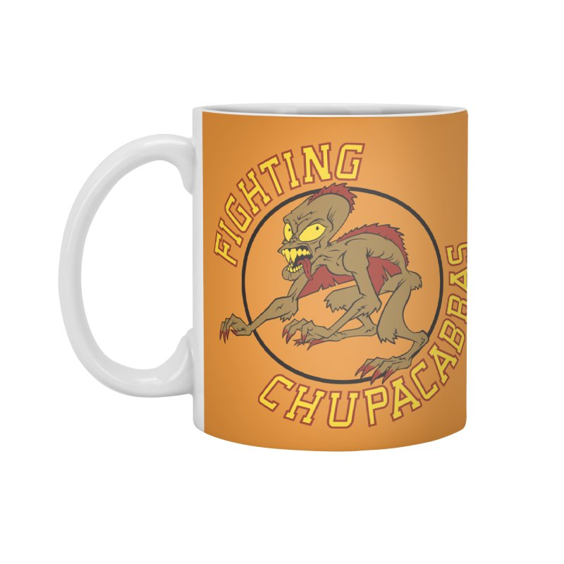 Fighting Chupacabras Accessories Mug by bennygraphix's Artist Shop