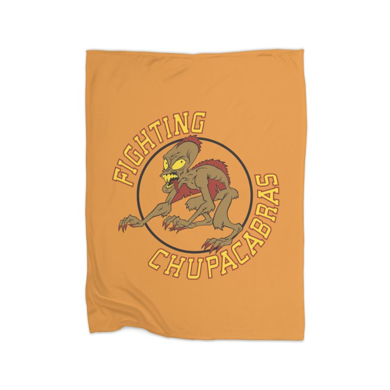 Fighting Chupacabras Home Blanket by bennygraphix's Artist Shop