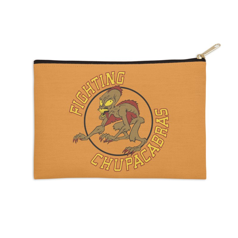 Fighting Chupacabras Accessories Zip Pouch by bennygraphix's Artist Shop