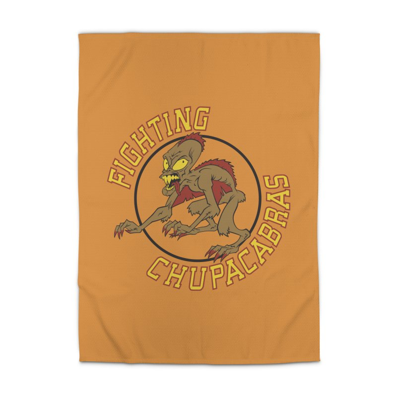 Fighting Chupacabras Home Rug by bennygraphix's Artist Shop