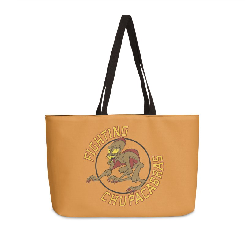 Fighting Chupacabras Accessories Weekender Bag Bag by bennygraphix's Artist Shop