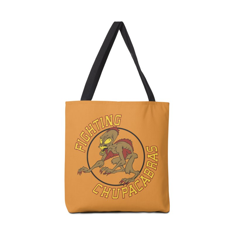 Fighting Chupacabras Accessories Tote Bag Bag by bennygraphix's Artist Shop