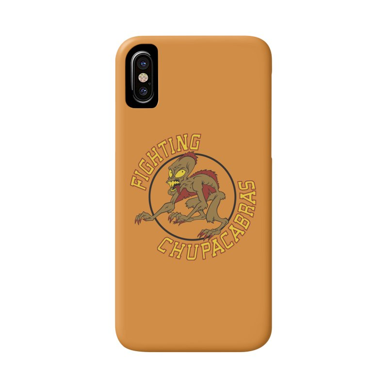 Fighting Chupacabras Accessories Phone Case by bennygraphix's Artist Shop