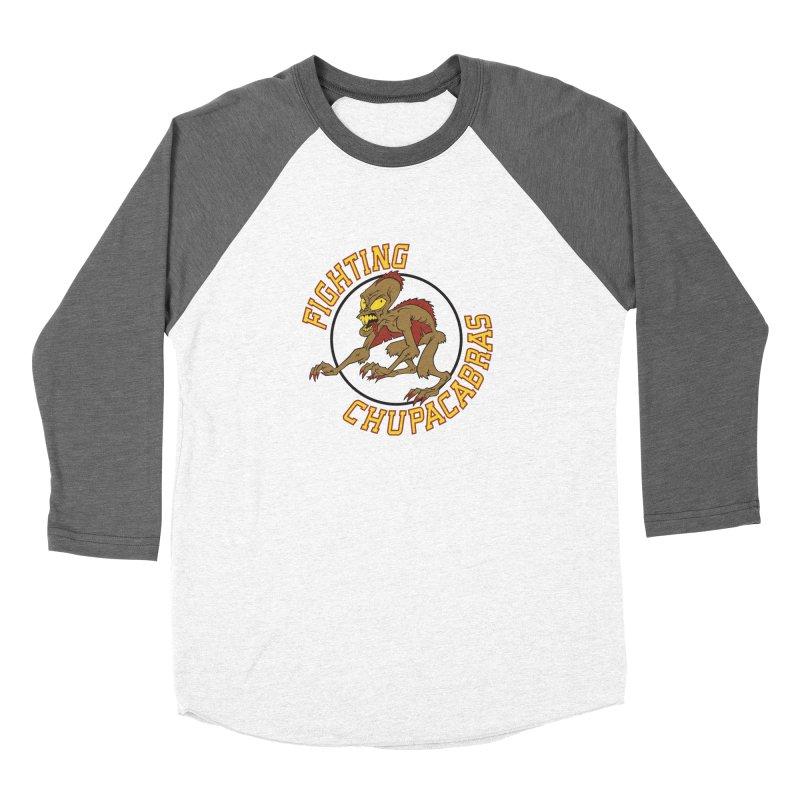 Fighting Chupacabras Women's Longsleeve T-Shirt by bennygraphix's Artist Shop