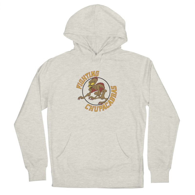 Fighting Chupacabras Women's French Terry Pullover Hoody by bennygraphix's Artist Shop